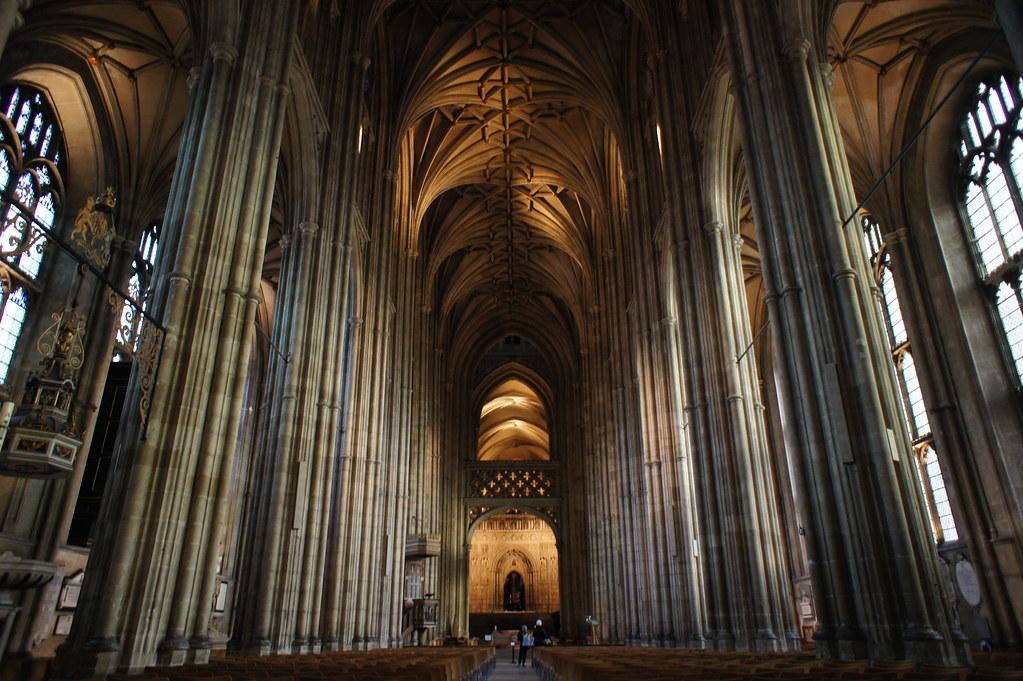 Canterbury Cathedral by barnyz Canterbury Cathedral Gothic Architecture