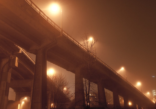Ramp in Fog  by petetaylor