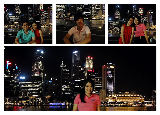 Marina Bay Singapore: Night View