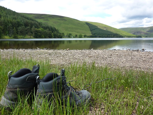 Boots by the loch