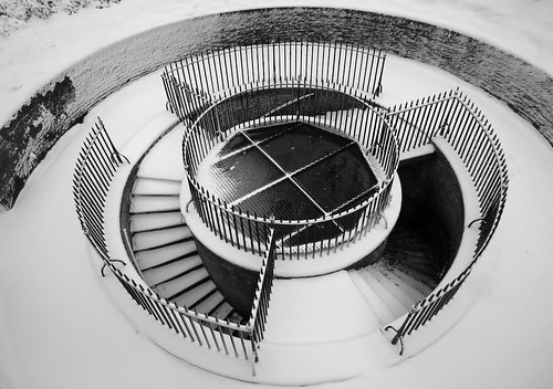 Grand Shaft Triple Spiral Staircase by Paul @ Doverpast.co.uk