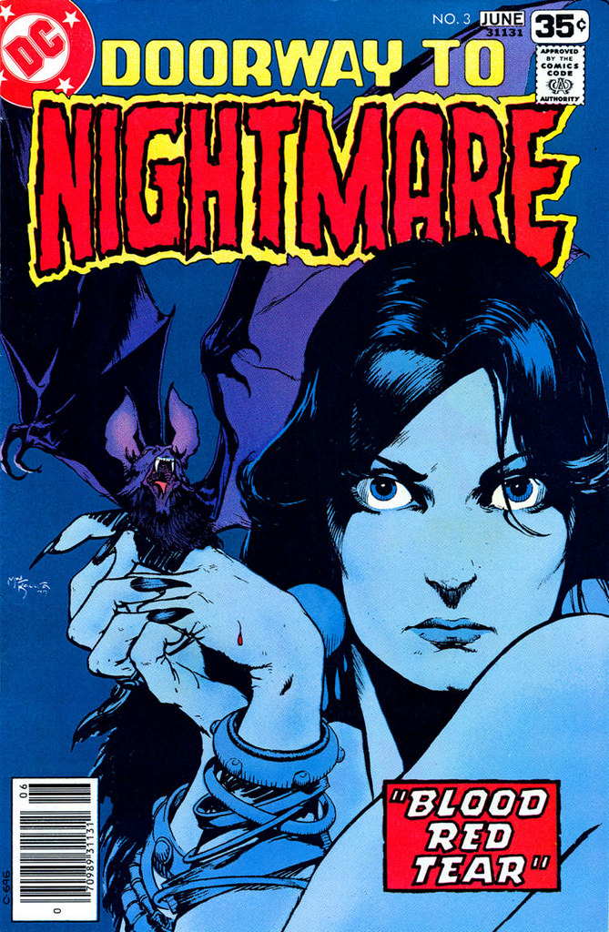 Doorway to Nightmare 3 1977 cover by Michael Kaluta