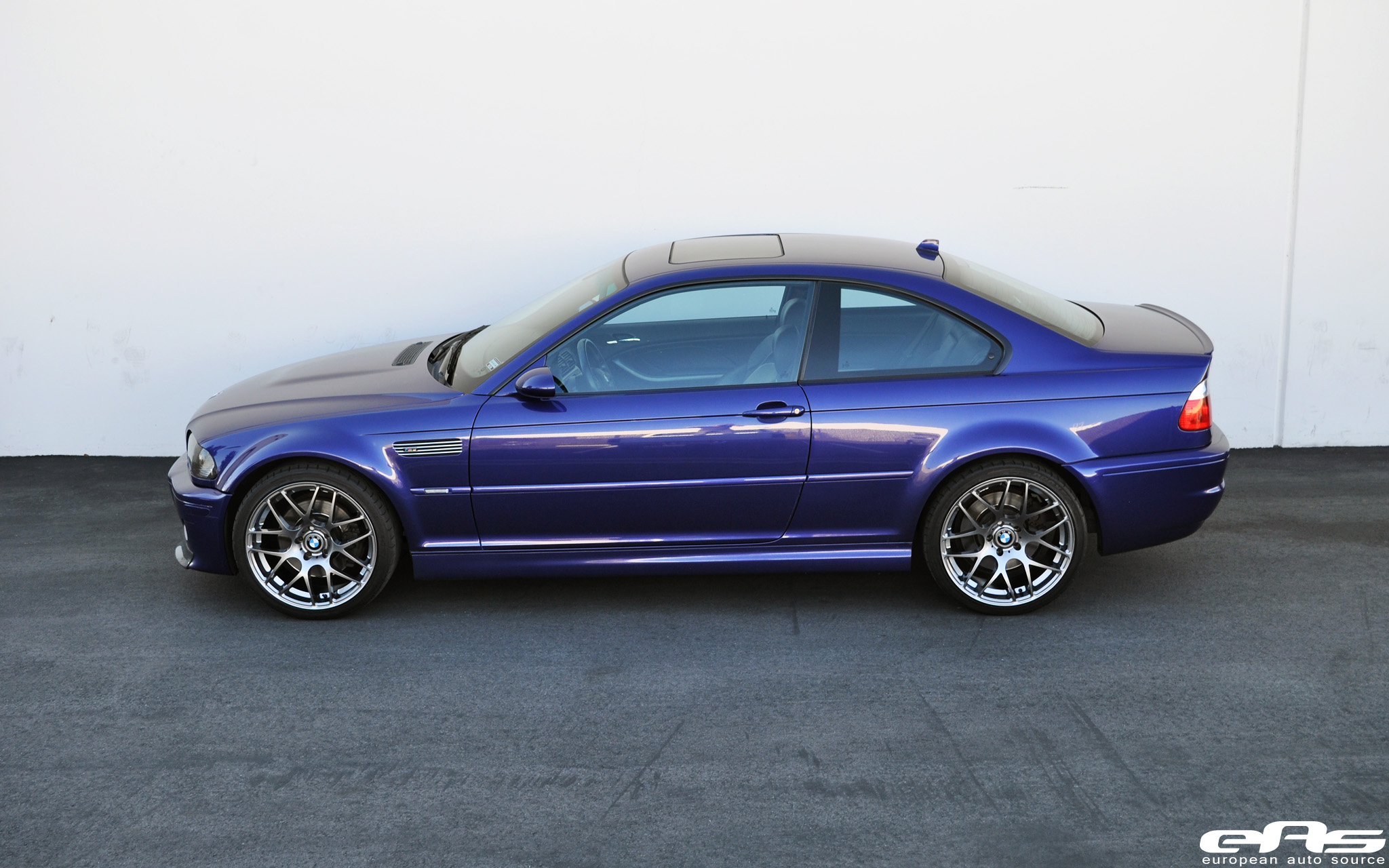 Velvet Blue Metallic E46 M3 On Gunmetal Vmr V710s Bmw Performance Parts Amp Services