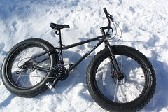 Surly Bike Made for Snow