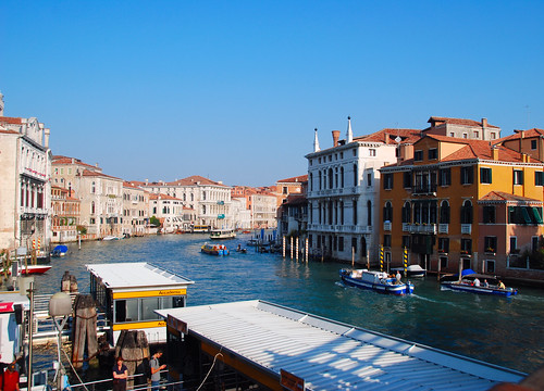 Venice - Another Busy Day on the Grand Canal