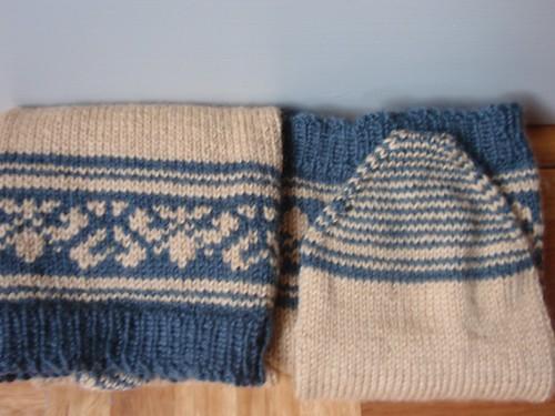 Fair Isle socks 2