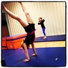 Stella handstand at tumbling tonight- my amazing 4 year old!