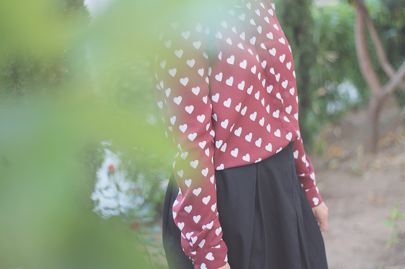 Hearts vintage shirt | Miss Ecl
