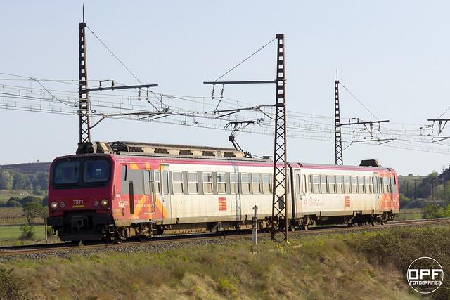 SNCF Z2 7371 TER, el primer del dia.