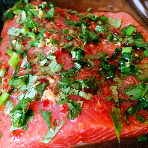 Grapefruit Sriracha Salmon