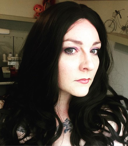 Wig and makeup test for #Yennefer ❤️ I am so in love with this #wig from #ardawigs 😊 #cosplay #thewitcher3 #thewitchercosplay #yennefercosplay