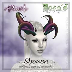 .{Rue}. Horn'd / Shaman