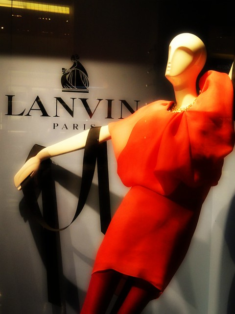 Lanvin Window Fall/Winter 2011
