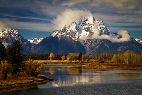 from the Oxbow - Teton National Park - 10-21-11  02
