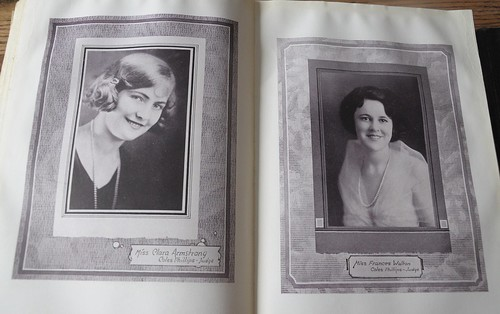 Old Yearbook, Glamour Shot, 1920s