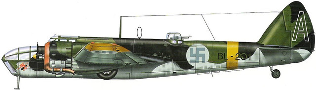 Bristol 149 Blenheim Mk.IV FAF