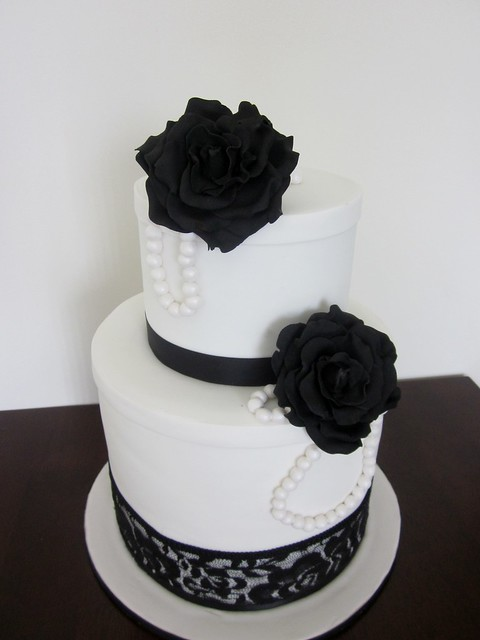 Vintage Black And White Wedding 110