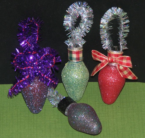 Glitter Bulb Ornament 4