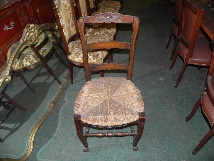 Antigua silla estilo provenzal no frances sillas a - Sillas estilo provenzal ...