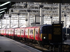 London Waterloo Station - South West Trains - Class 455