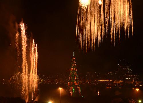 Inauguração da Árvore de Natal da Lagoa