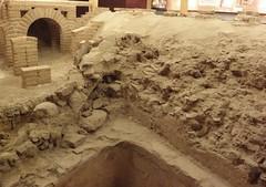 construction(0.0), archaeology(1.0), wall(1.0), soil(1.0), sand(1.0), brick(1.0), brickwork(1.0),