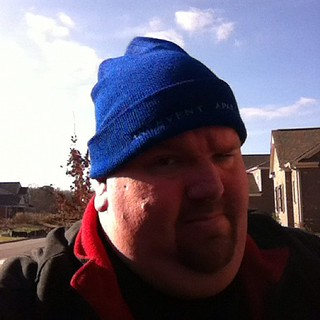 Celebrating Blue Beanie Day in support of Web Standards