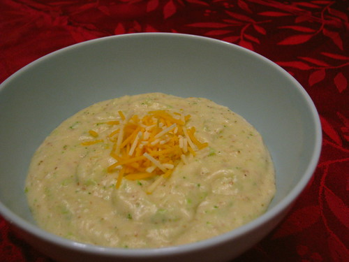 Baked Potato Soup with Broccoli and Cheddar