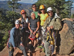 CMC Climbers After First Flatiron Fandango Ascent