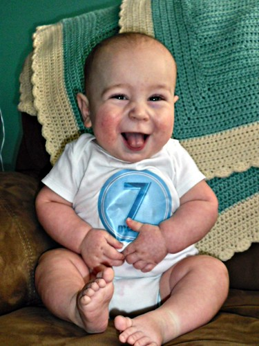 Day 68 - Seven months! by Karin Beil