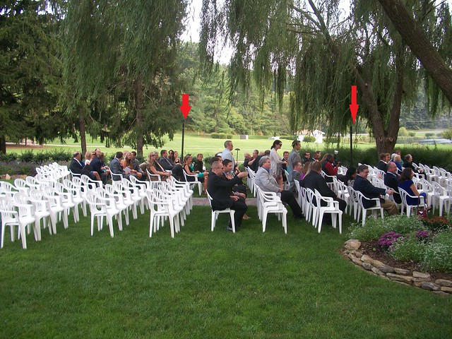 Turf Valley Country Club Wedding Ceremony, DJ - Chris Laich Music Services