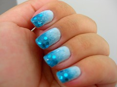 Ombré Nails por Luísa Elisa