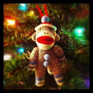 Ho Ho Ho, Merry Sock Monkey!