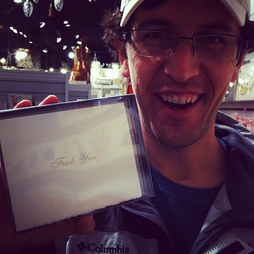 E found him some Pretty Paper