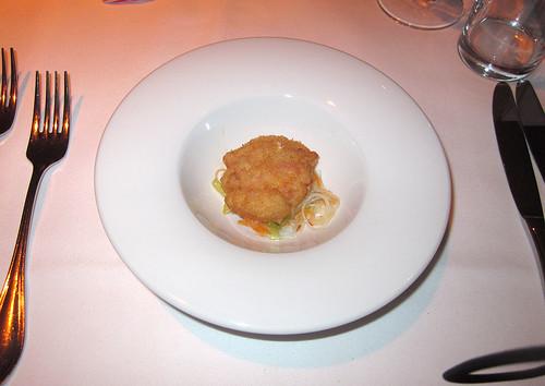 Gamba auf Nudelsalat / Gamba with noodle salad