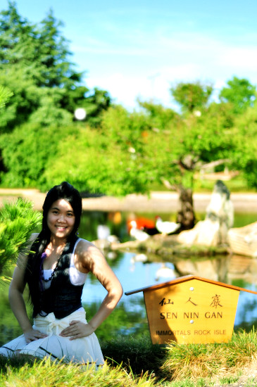 Summer Photoshoot at Japanese Garden