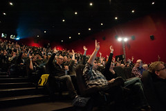 Audience at Matt Raible's Presentation Devoxx Belgium
