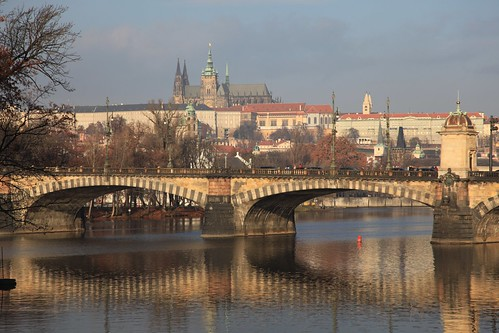 Prague morning by Clare Forster