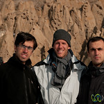 Dan with Iranian Friends - Kandovan, iran