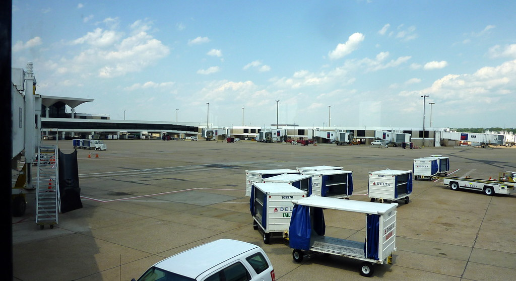 Memphis International Airport During a Slow Time