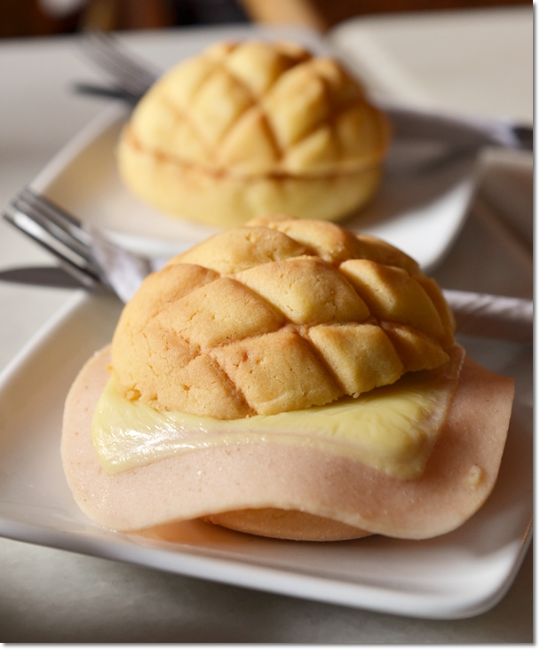Ham & Cheese Polo Bun