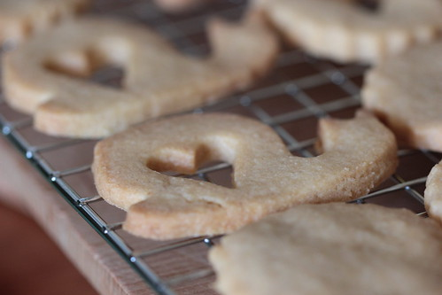 linzer biscuits making