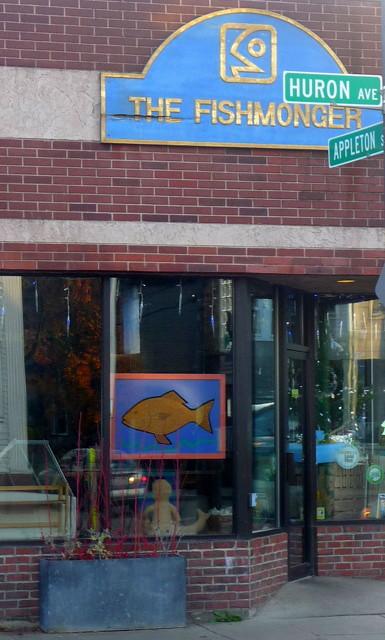 Huron Village - The Fishmonger, Cambridge, MA