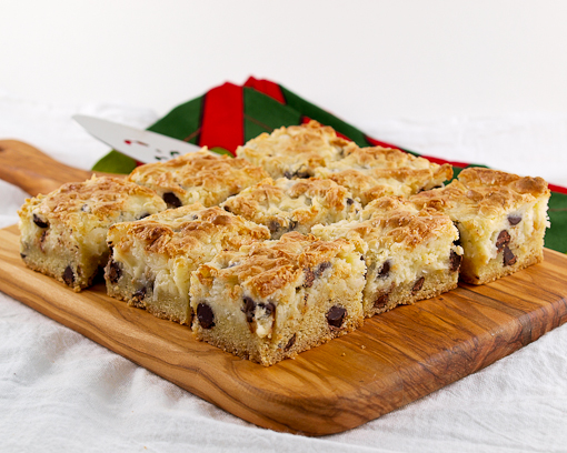 Chocolate Chip Coconut 'Awesome' Bars
