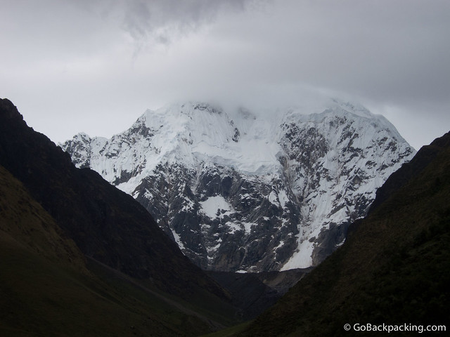 Salkantay Mountain (6,264 meters) at sunset
