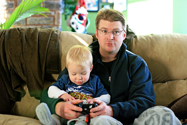 Xbox With Daddy