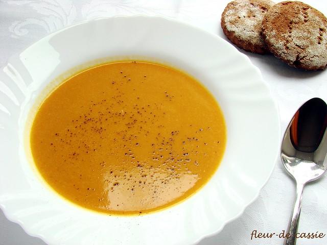 суп тыквенный с кокосом