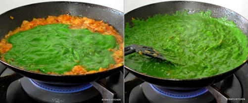 step 6 palak paneer recipe