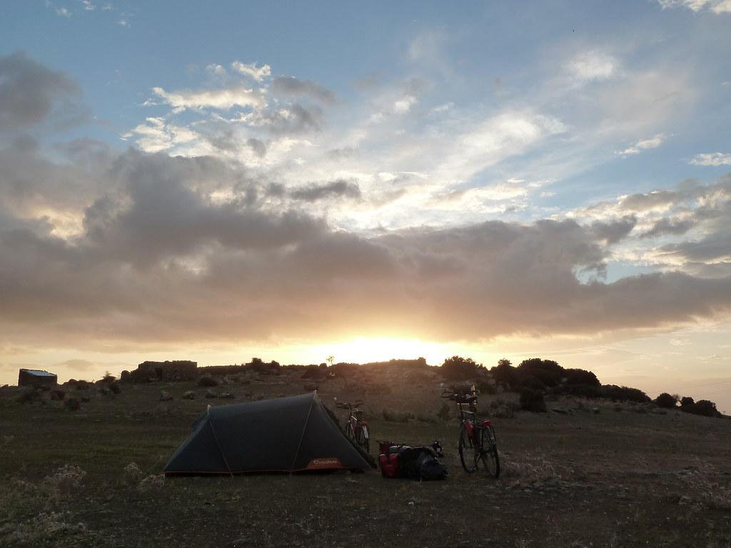 Campament a Assos (Turquia)