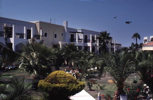 Kos Hotel Tigaki Beach Restaurant Aus Sitzplatze Drau Ef Bf Bden